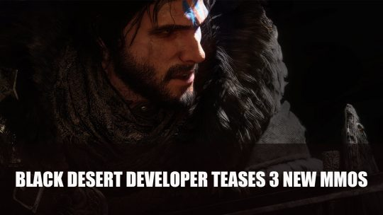Black Desert Online Developer Pearl Abyss Teases 3 New MMOs