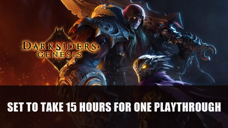 Darksiders Genesis Set to Take 15 hours to Complete
