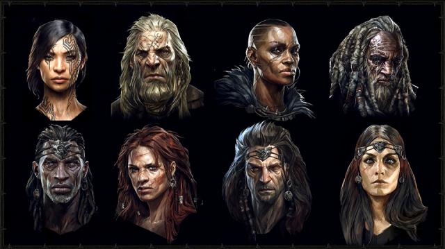 Diablo 4 Character Customisation