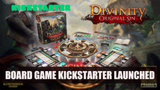 Divinity Original Sin The Board Game Kickstarter Launched