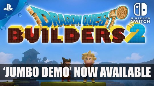 Dragon Quest Builders 2 Jumbo Demo Now Available on PS4 and Switch