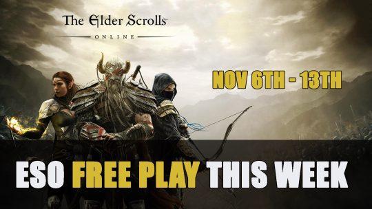 Elder Scrolls Online Free Play Event