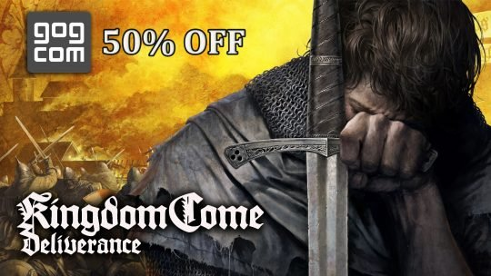 Kingdom Come Deliverance Now 50% Off