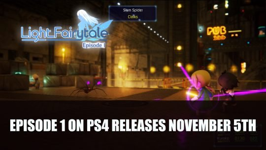 Light Fairytale Episode 1 on PS4 Releases November 5th