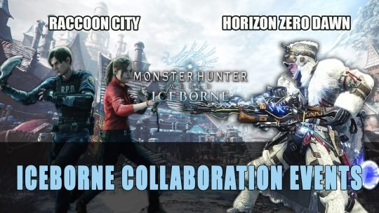Monster Hunter World Iceborne Raccoon City and All-New Horizon Zero Dawn Collaboration Event