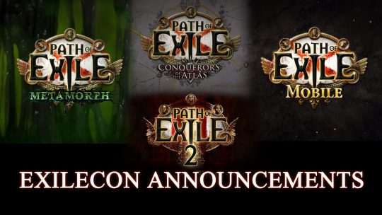Path of Exile Announcements from ExileCon