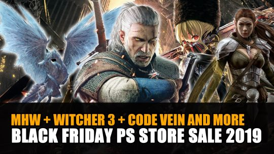Black Friday Playstation Store Sale 2019