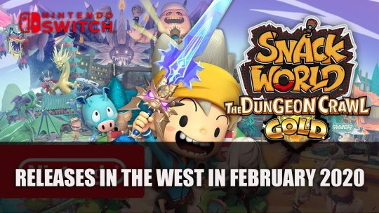 Snack World: The Dungeon Crawl – Gold Releases in the West in February 2020