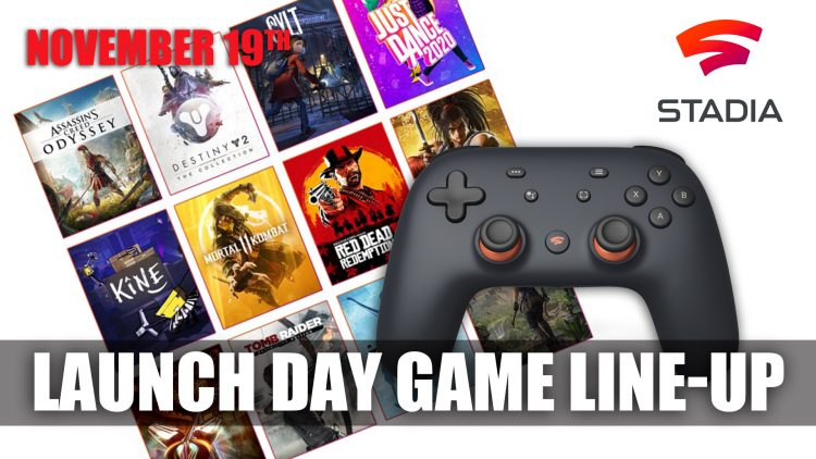 Google Reveals Stadia's Launch Day Game Line-up