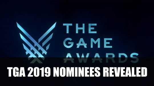 The Game Awards 2019 Nominees Revealed