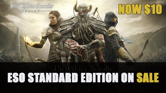 Elder Scrolls Online Standard Edition Now 50% Off