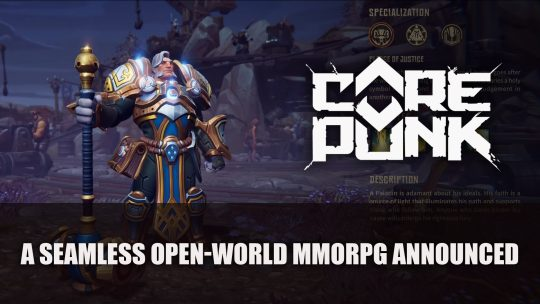 Corepunk An Open World MMORPG Announced for 2020