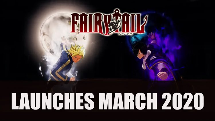 Fairy Tail RPG Launches March 2020
