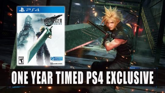 Final Fantasy VII Remake Will Be A One Year Timed Playstation 4 Exclusive