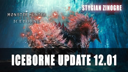 Monster Hunter World Iceborne Update 12.01