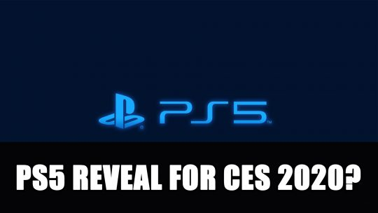 Sony Could be Teasing a PS5 Reveal for CES 2020
