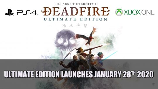 Pillars of Eternity II: Deadfire Ultimate Edition Launches January 28th 2020