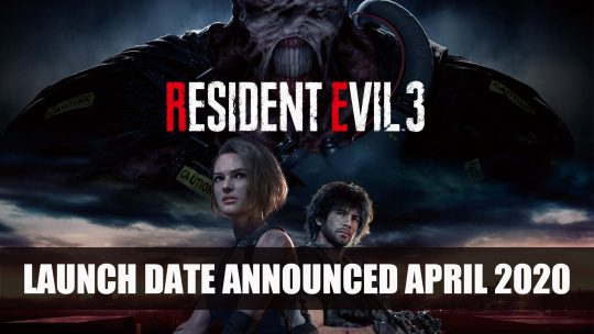 Resident Evil 3 Announced; Comes with Residence Evil Resistance
