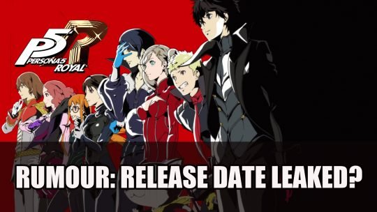 Rumour: Persona 5 Royal Releases February 2020