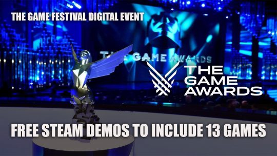 The Game Awards 2019 Adds Digital Event The Game Festival with Free Demos