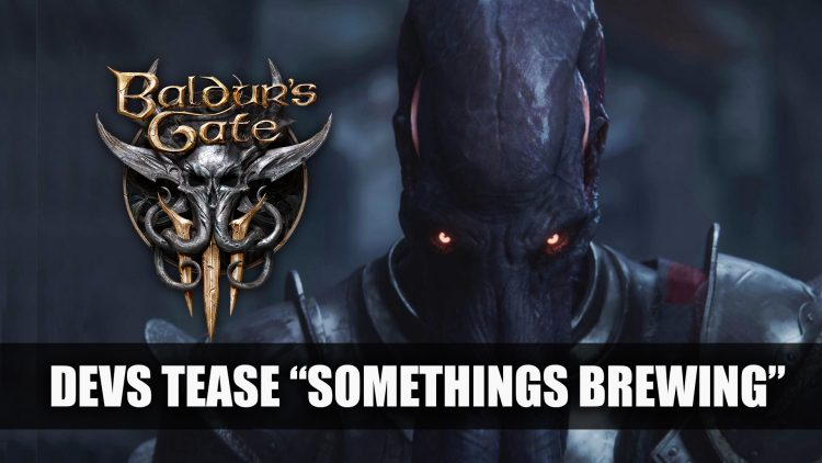 "Baldur's Gate 3 Devs Tease ""Something's Brewing"""