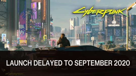 Cyberpunk 2077 Delayed To September
