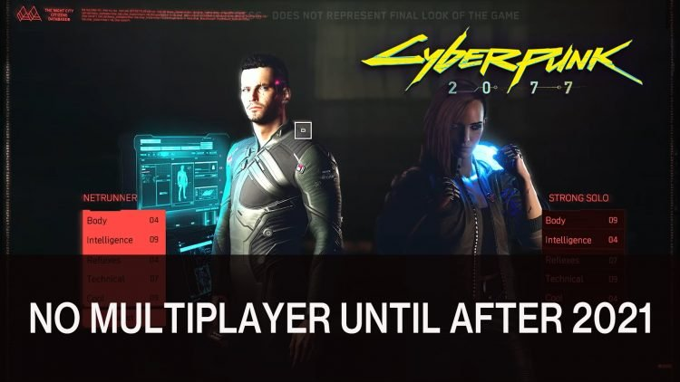 Cyberpunk 2077 Multiplayer Not Available Until After 2021