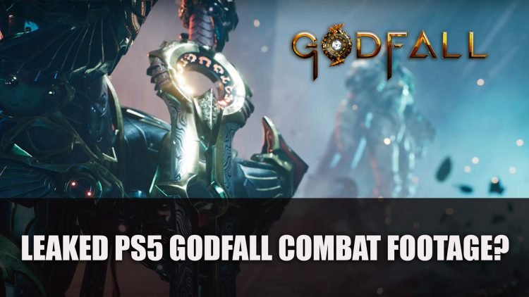 PS5 Godfall Combat Footage Leaked?