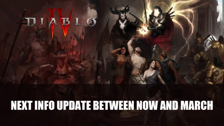 Blizzard Shares Next Diablo IV Info Update Between Now and March