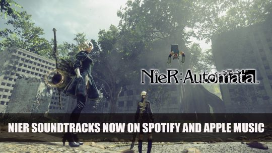 NieR Soundtracks Now Available on Spotify and Apple Music