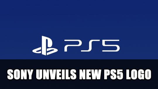 Sony Unveils New PS5 Logo at CES 2020