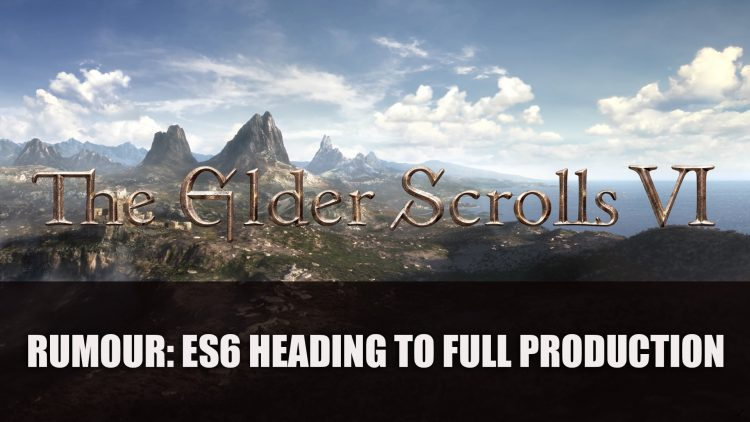 Rumour: The Elder Scrolls 6 Heading to Full Production