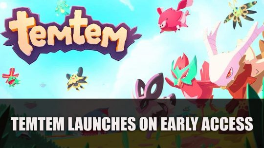 Pokemon Inspired MMORPG Temtem Releases in Early Access Today