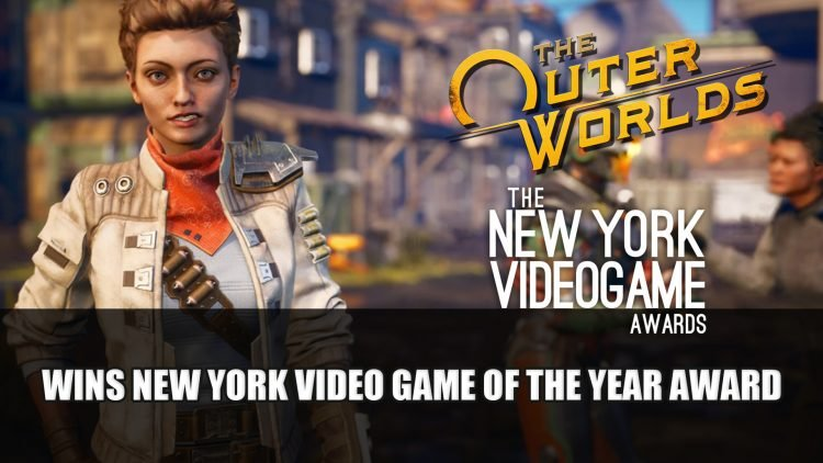 The Outer Worlds Receives Game of the Year at The New York Video Game Awards 2020