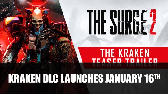 The Surge 2 Expansion Kraken Launches January 16th