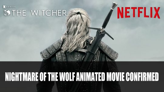 Netflix Confirms The Witcher: Nightmare of the Wolf Animated Movie