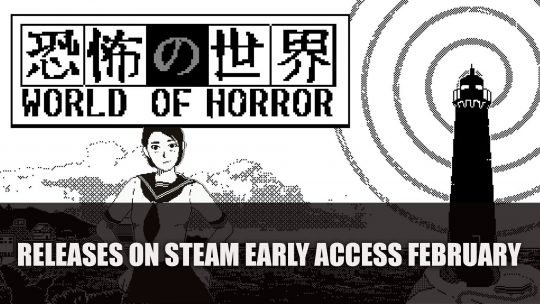 Creepy RPG World of Horror Releases on Steam Early Access Next Month