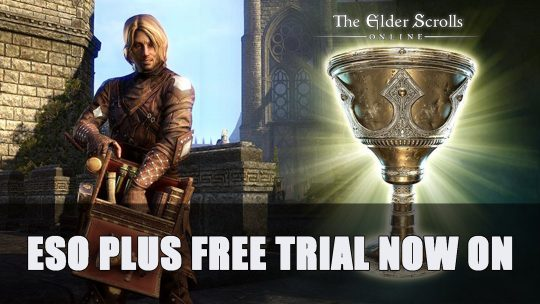 ESO Plus Free Trial On Until January 23rd