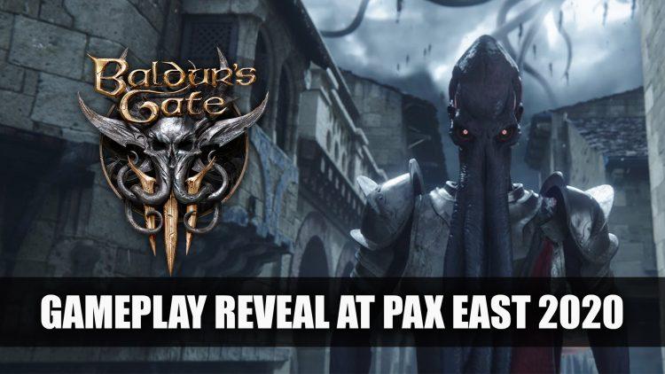 Baldur's Gate 3 Gameplay Reveal at PAX East 2020