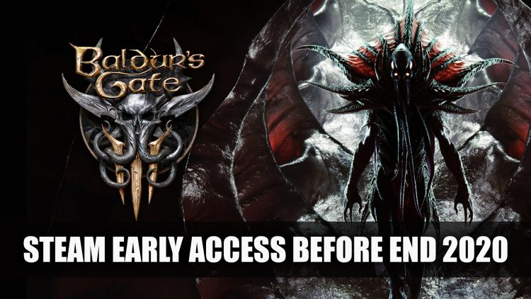 Baldur's Gate 3 Will Be in Early Access By the End of 2020