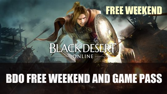 Black Desert Online 4th Anniversary Celebrates with Free Weekend and Game Pass