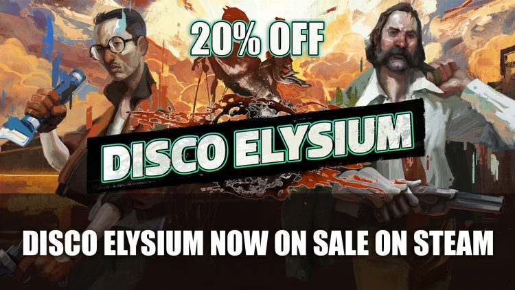 Disco Elysium Is Now 20% Off on Steam