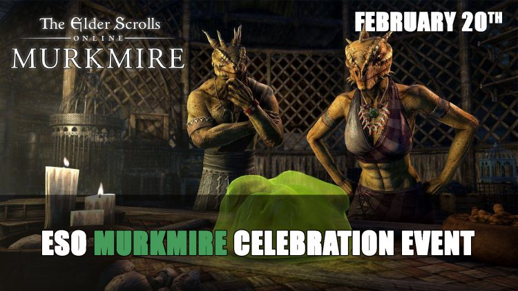 Elder Scrolls Online Murkmire Celebration Starts February 20th