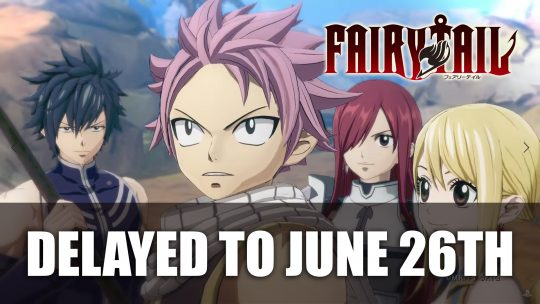 Fairy Tail RPG Delayed to June