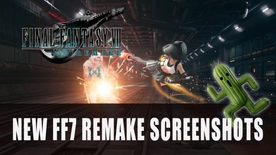 Final Fantasy VII Remake New Screenshots Include Red XIII