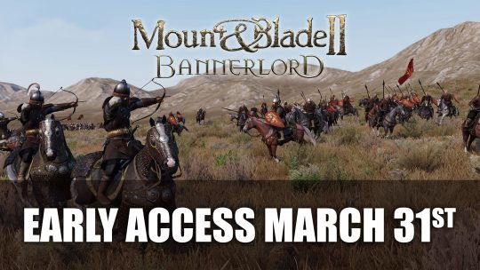 Mount & Blade 2: Bannerlord Launches on Early Access in March