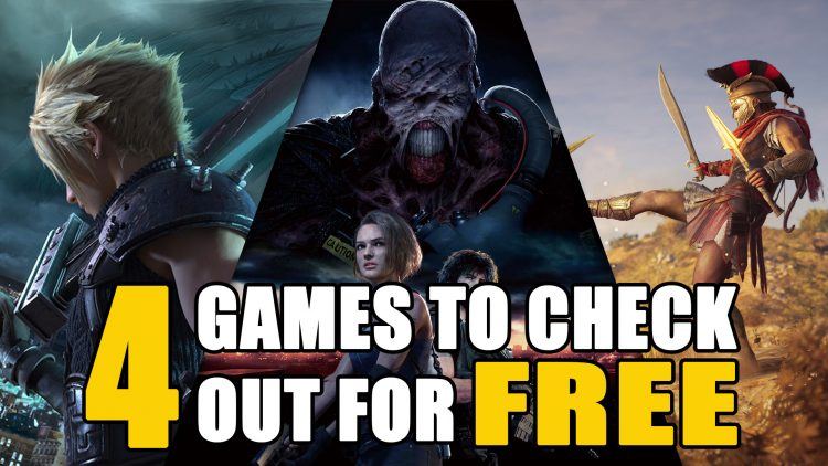 Free Demos and Trials to Play this Weekend