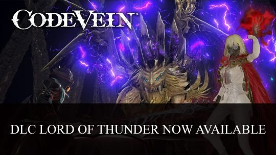 Code Vein DLC Lord of Thunder Now Available