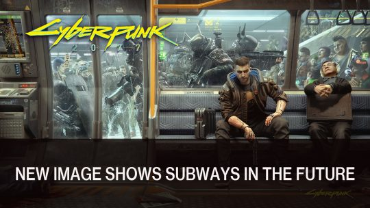 Cyberpunk 2077 New Wallpaper Shows the Subways of the Future