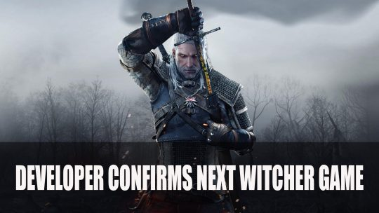 New Witcher Game to Start Development After Cyberpunk 2077